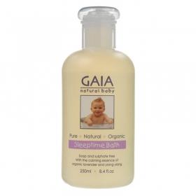 Sữa tắm hữu cơ giúp bé ngủ ngon GAIA Sleep Time Bath Wash 250ml