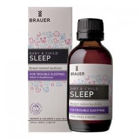 Siro hỗ trợ giấc ngủ cho bé Brauer - Brauer Baby & Child Sleep (100ml)