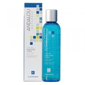 Nước hoa hồng Andalou Naturals se khít lỗ chân lông cho da dầu, da mụn Aloe Willow Bark 178 ml