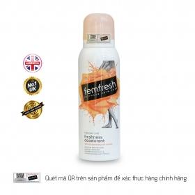 Xịt thơm mát vùng kín cao cấp Femfresh Deodorant Spay 125ml