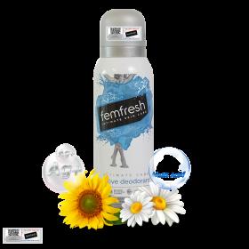 Xịt thơm mát vùng kín cao cấp Femfresh Ultimate Care Deodorant 125ml
