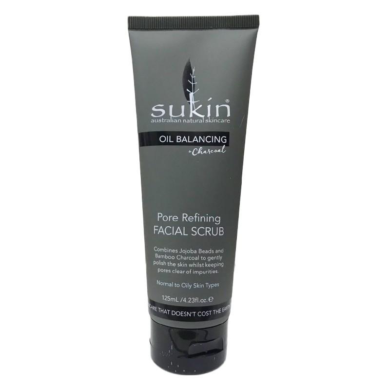 Kem Tẩy Tế Bào Chết và Cân Bằng Dầu Sukin Oil Balancing Pore Refining Facial Rub (125ml)