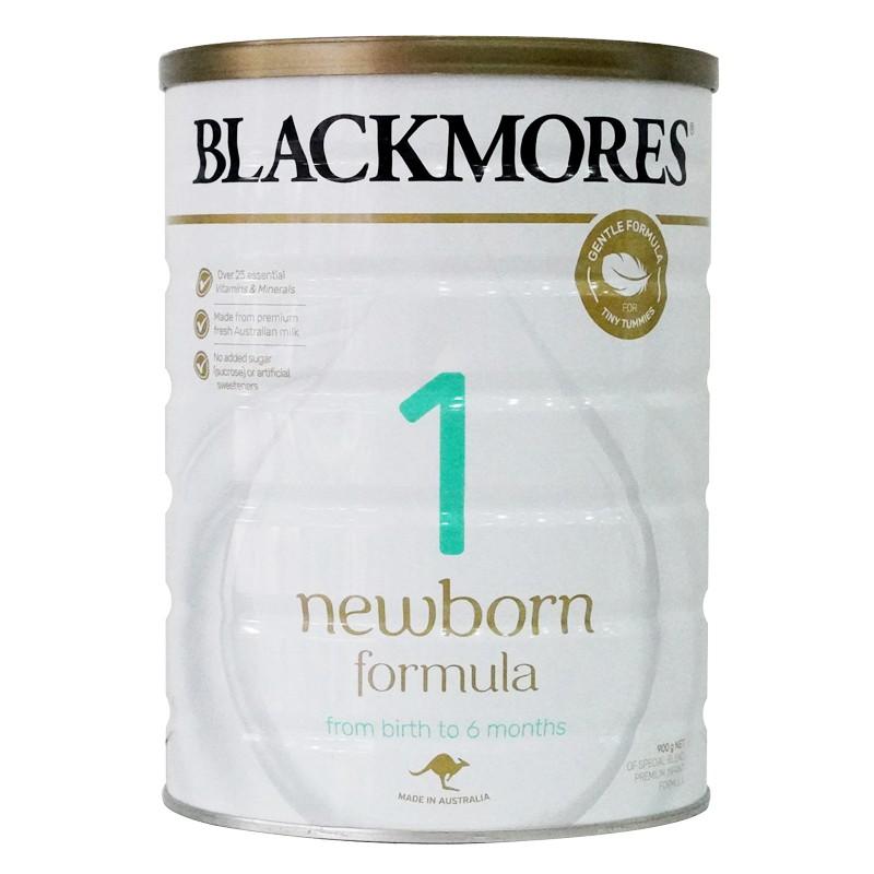 Thực phẩm bổ sung dinh dưỡng Blackmores Newborn Fomula số 1- 900gr
