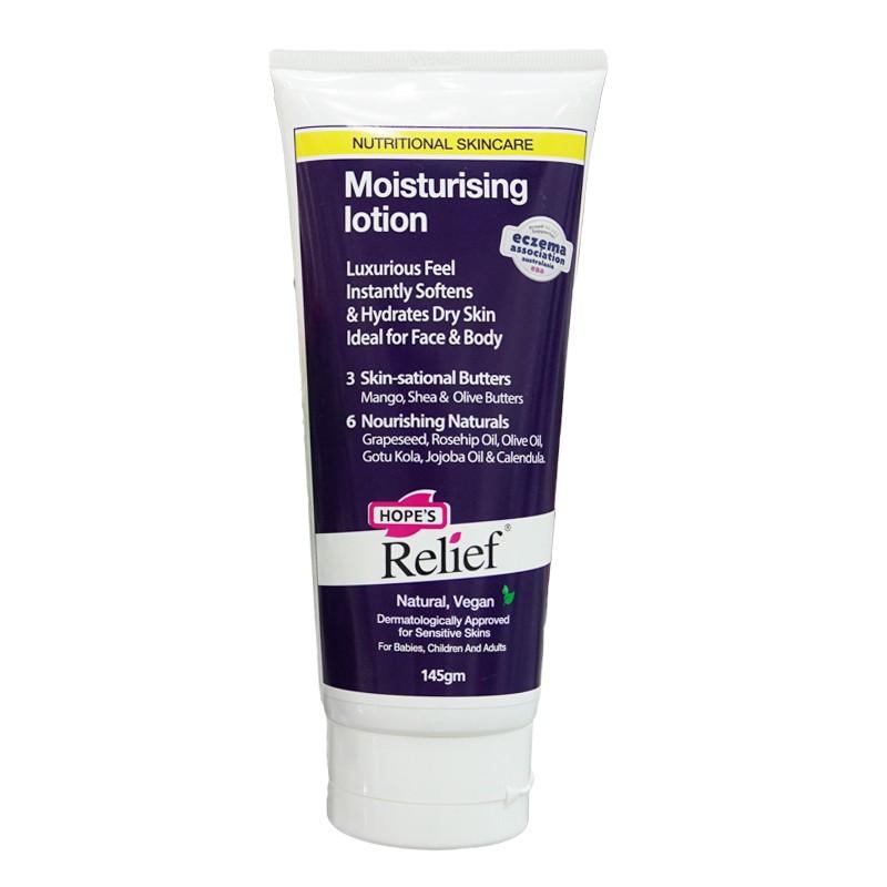 Hope's Relief Moisturising Lotion 145g - Kem dưỡng ẩm cho da khô ngứa, eczema, vẩy nến, viêm da