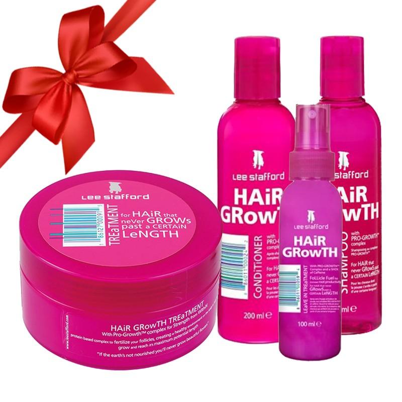 Bộ sản phẩm đặc trị dành cho tóc rụng, kích thích mọc tóc Lee Stafford