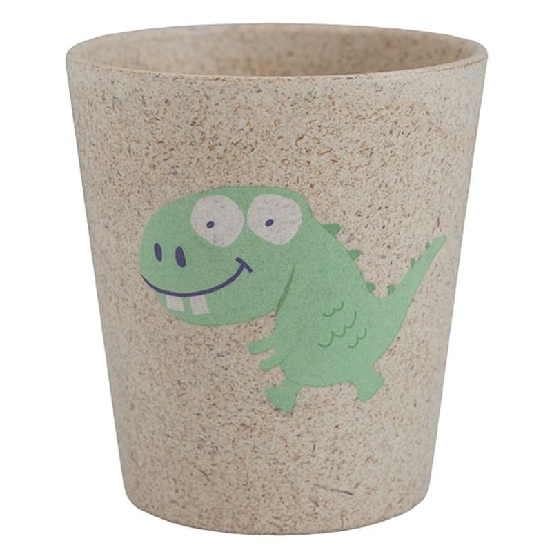Cốc đánh răng hữu cơ cho bé Jack N' Jill -Hình khủng long