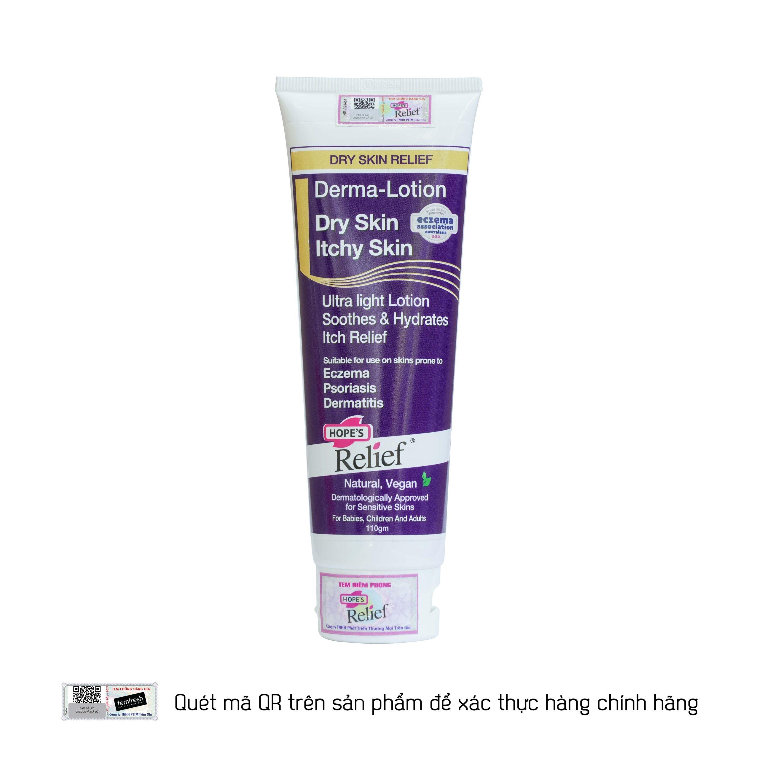 Kem dưỡng ẩm Hope's Relief Derma-Lotion 110g