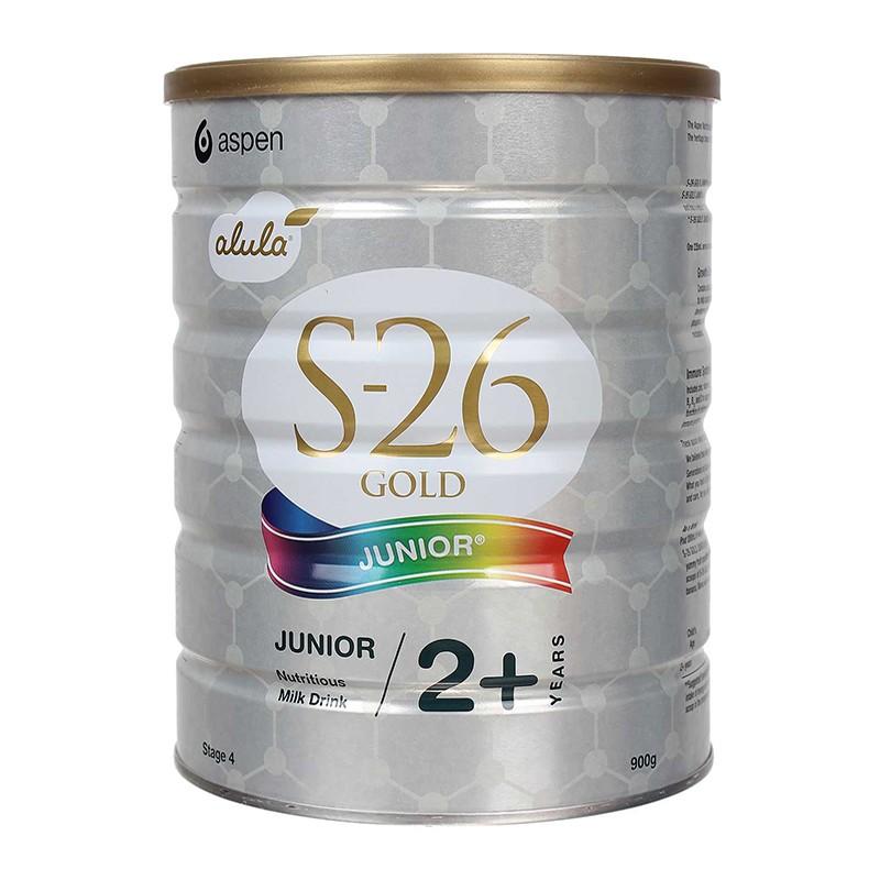 Sữa S26 Gold Junior Úc số 4 (900g) cho trẻ từ 2 tuổi trở lên