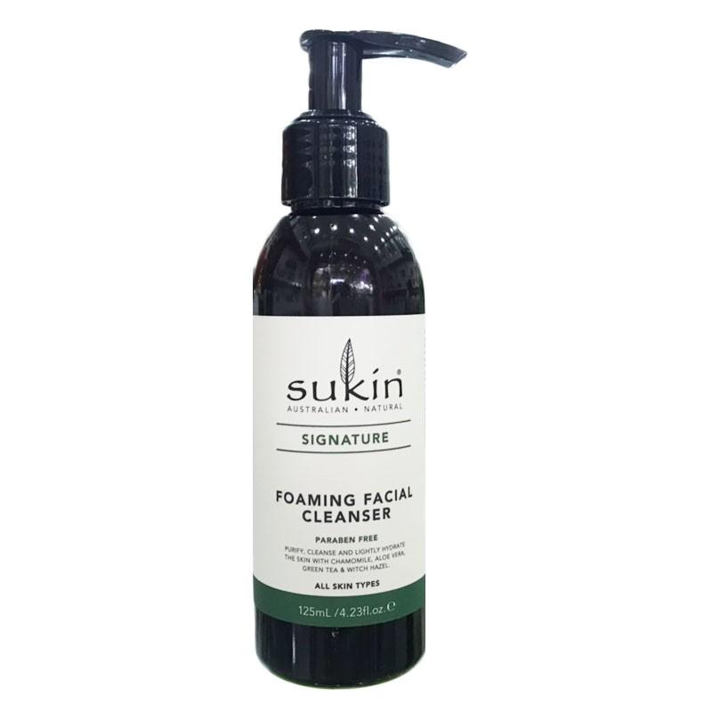 Sữa rửa mặt thiên nhiên dạng bọt Sukin Foaming Facial Cleanser (125ml)