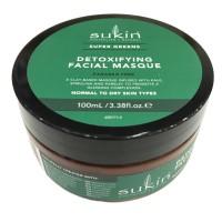 Mặt nạ đất sét thải độc cho da Sukin Super Greens Detoxifying Clay Masque (100ml)