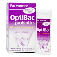 Men vi sinh trị viêm âm đạo, viêm tiết niệu và bảo vệ sức khỏe Optibac for women 30 viên