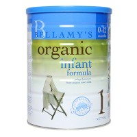 Sữa Bellamy's organic số 1 cho bé từ 0 - 12 tháng tuổi