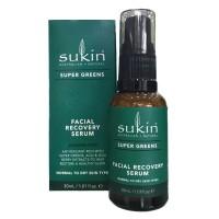 Serum tái tạo tế bào da mặt Sukin Super Greens Facial Recovery Serum (30ml)