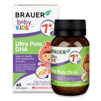 Bổ sung DHA Ultra Pure Brauer Úc cho trẻ từ 7 tháng tuổi