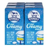 Sữa tươi nguyên kem Devondale 100% Pure Full Cream Long Life Milk 200ml