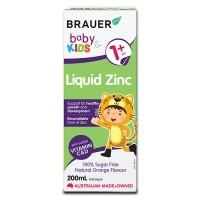 Bổ sung kẽm cho bé trên 1 tuổi Brauer Zinc 200ml