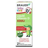 Bổ sung vitamin D Brauer 10ml cho trẻ sơ sinh và trẻ nhỏ