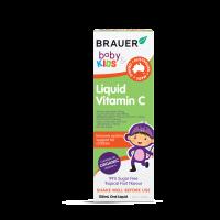 Bổ sung Vitamin C Brauer cho trẻ trên 1 tuổi 100ml