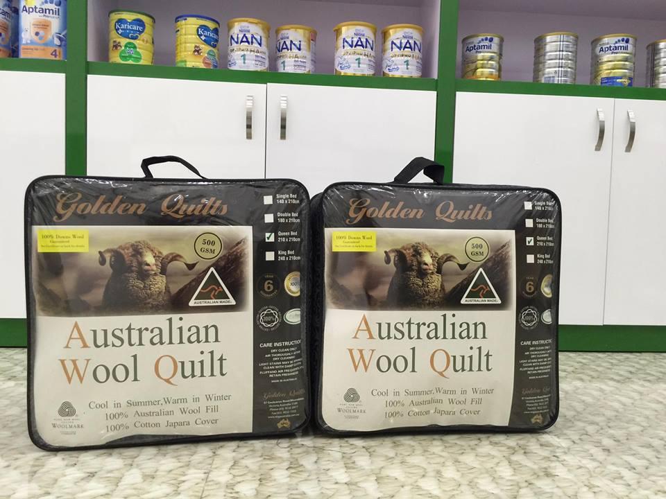 Chăn lông cừu cao cấp của Úc Queen Size