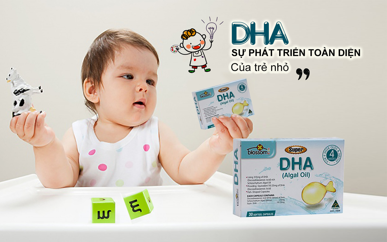 Bổ sung DHA cho trẻ - Blossom Super DHA 30 viên