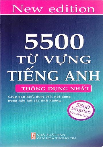 5500 từ vựng tiếng anh