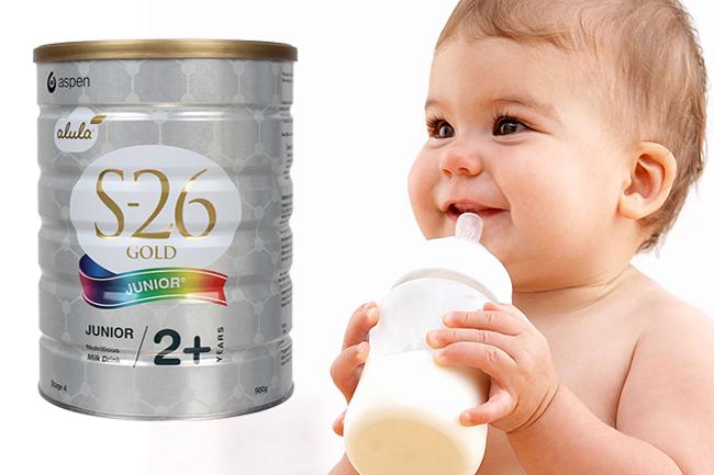 Sữa s26 cho trẻ trên 2 tuổi