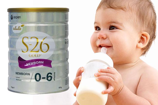 Sữa s26 cho trẻ 0 đén 6 tháng