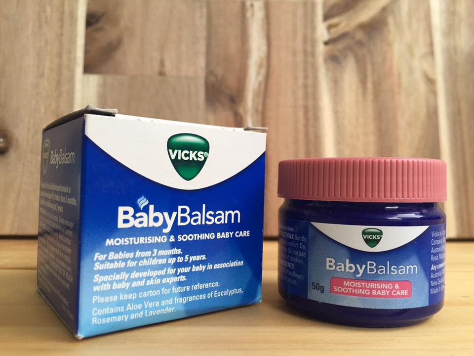 dầu bôi cho trẻ baby balsam