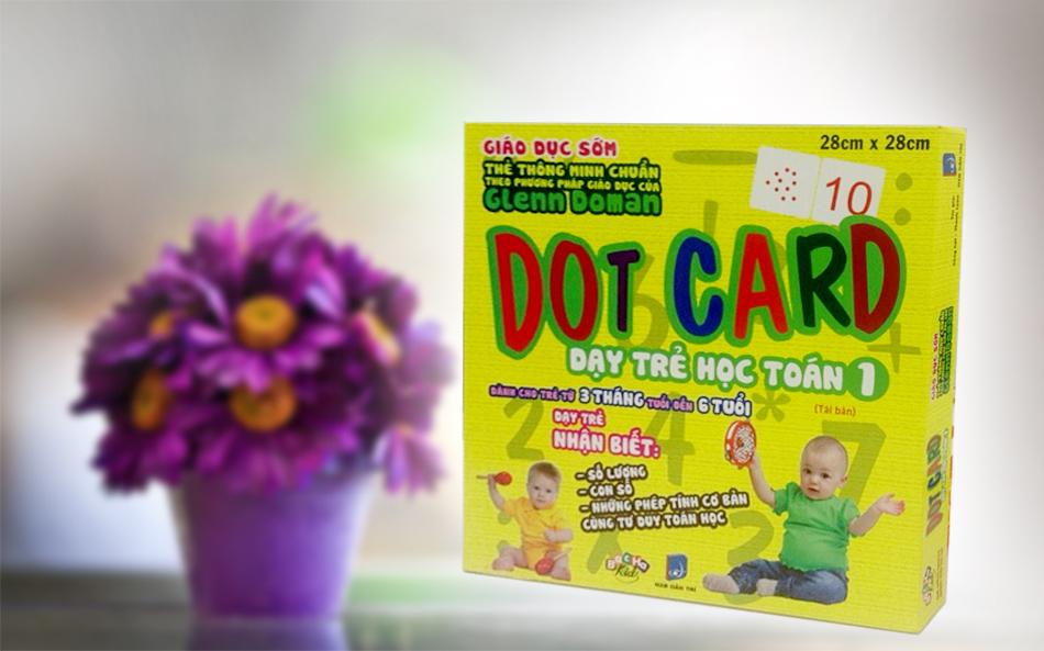 Dạy trẻ học toán - Dot card