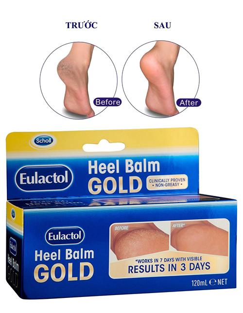 Dưỡng gót Eulactol Heel Balm Gold