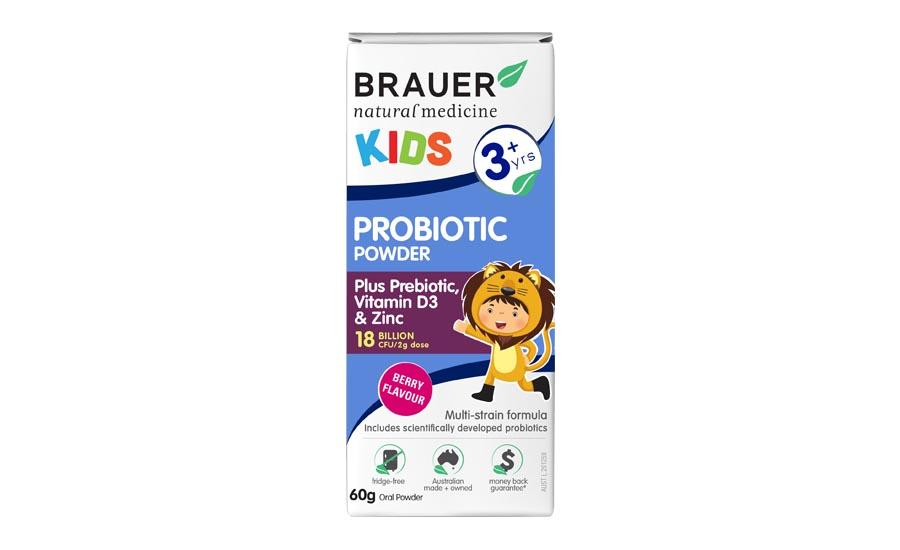 Men vi sinh Brauer dạng bột dành cho trẻ nhỏ trên 3 tuổi 60g