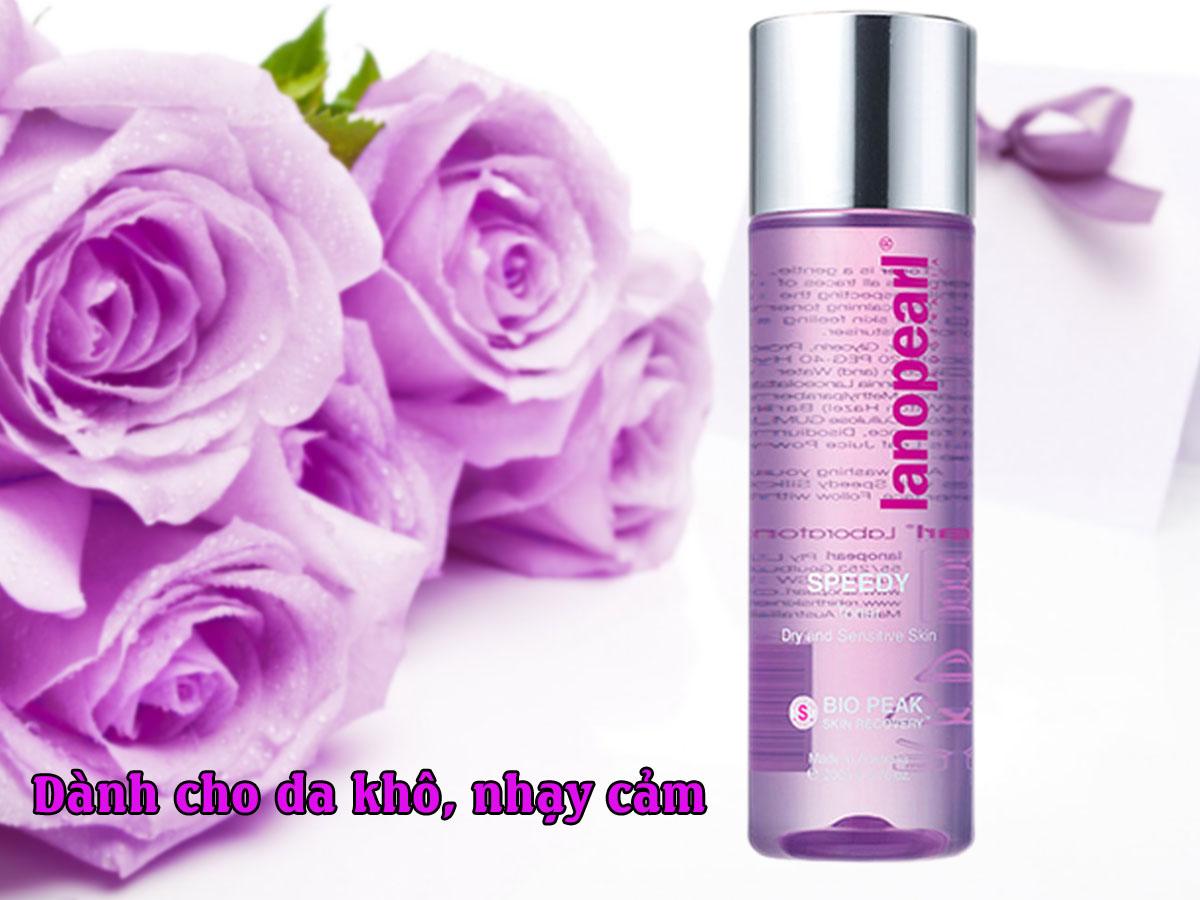 Nước hoa hồng Lanopearl cho da khô, da nhạy cảm