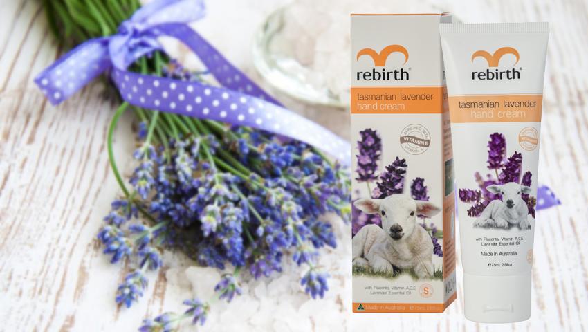 Kem dưỡng tay Rebirth Lavender đem lại đôi tay mềm mịn như ý