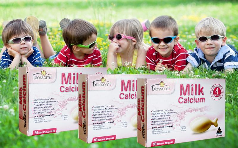 Bổ sung Milk Canxi cho trẻ loại 90 viên