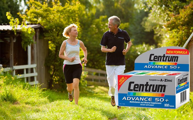 Vitamin tổng hợp Centrum Advance cho người trên 50 tuổi