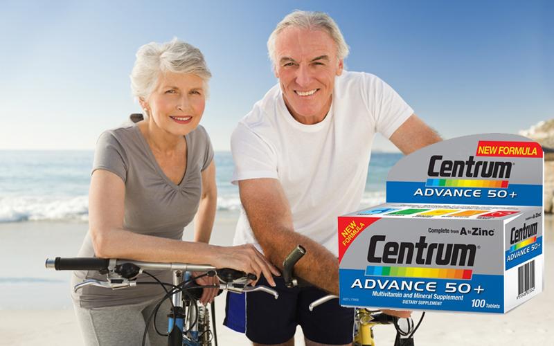 Vitamin tổng hợp Centrum Advance 100 Viên cho người trên 50 tuổi