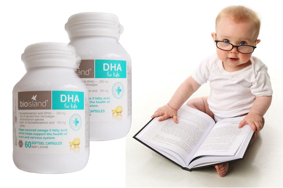 DHA Bio Island  60 viên cho trẻ em