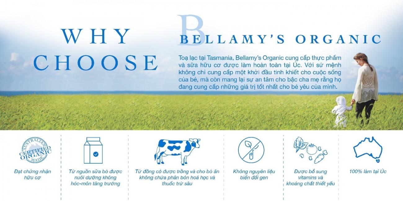 Sữa Bellamy's organic số 2