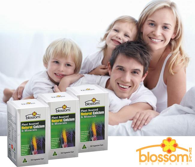 Canxi hữu cơ cho bà bầu và cả gia đình Blossom Natural Calcium