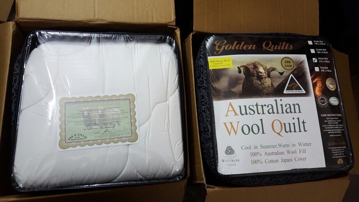 Chăn lông cừu cao cấp của Úc