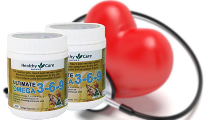 Dầu cá Healthy care omega 3-6-9 200 viên