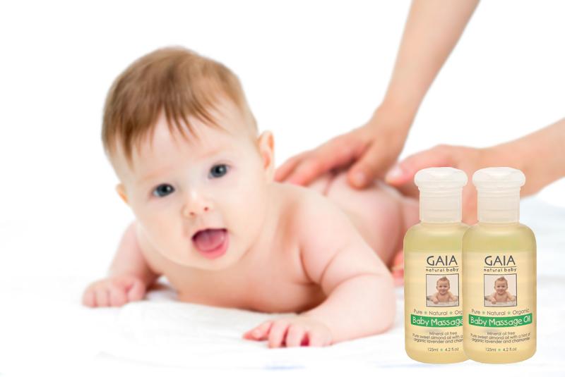 Dầu mát xa hữu cơ GAIA Massage Oil 125ml