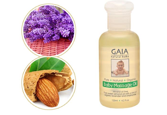 Dầu mát xa hữu cơ GAIA Massage Oil