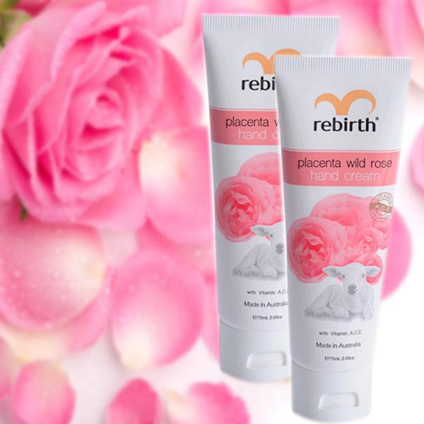 Rebirth Placenta Wild Rose Hand Cream 75ml phù hợp với mọi loại da
