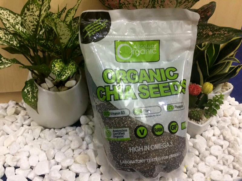 Hạt Chia Úc Organic