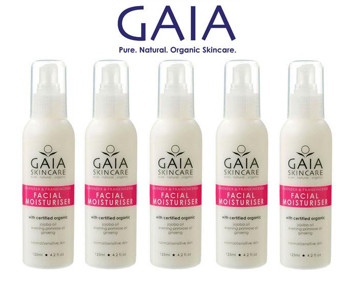 Kem dưỡng ẩm hữu cơ GAIA Facial Moisturise 125ml