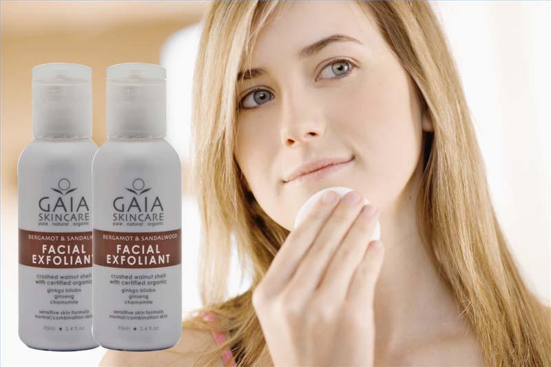 Kem tẩy da chết hữu cơ GAIA Facial Exfoliant