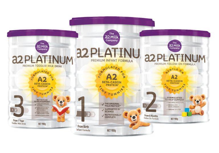 Sữa cao cấp A2 Platinum số 1 Úc 900g