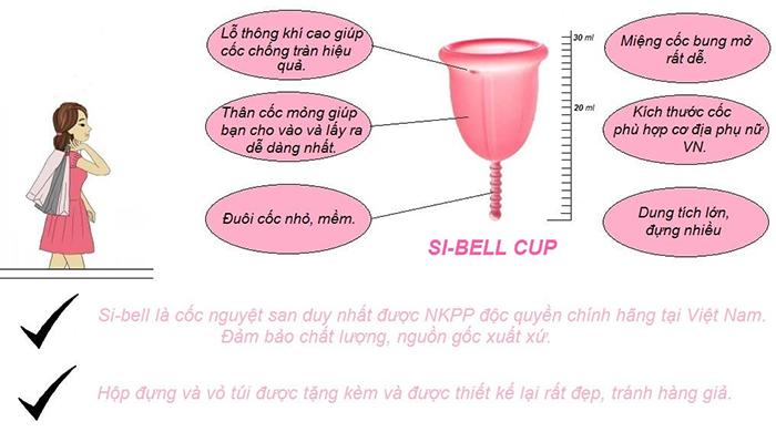 Cốc nguyệt san Si-Bell