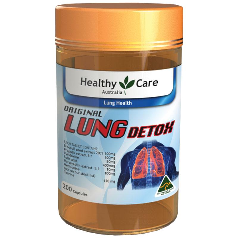 viên uống giải độc phổi